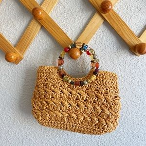 Cappelli Woven Jeweled Purse